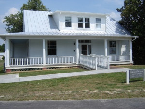 The Louisa County Historical Society building