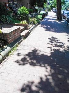sidewalk in Capitol Hill