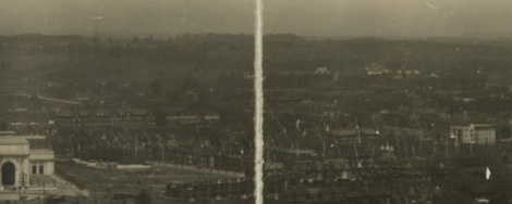 Panorama of Capitol Hill, Washington, D.C., taken from the Capitol Building looking east, c1909 (Library of Congress)